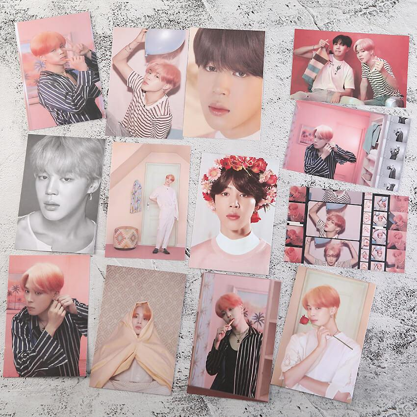 Bangtan Photo Frame And Photo Card Set