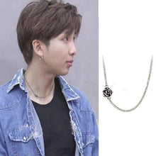 Load image into Gallery viewer, Bangtan RM Music Bank Rose Fashion Necklace
