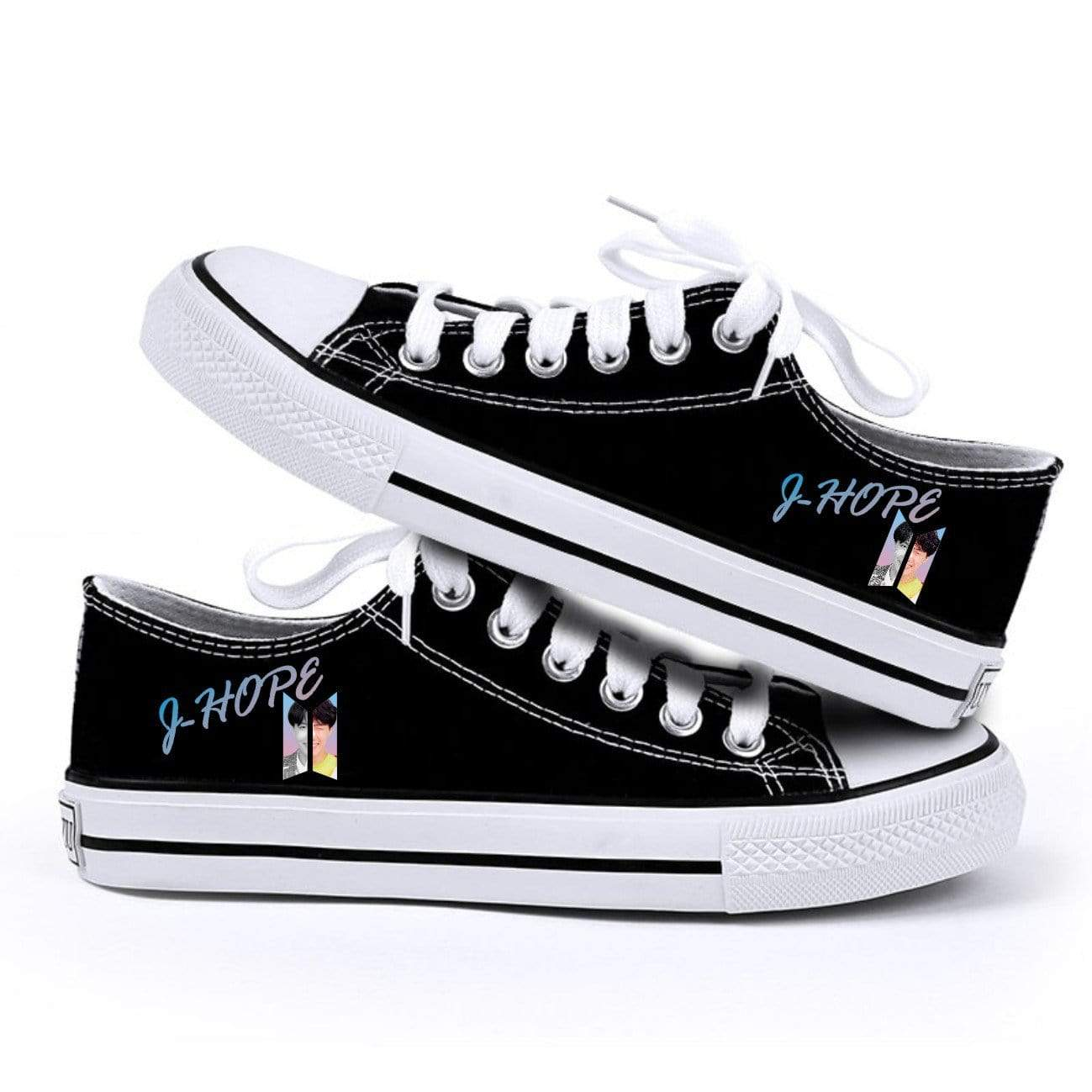 Bangtan Simple Casual Canvas Shoes