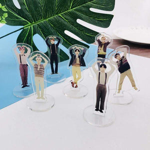Bangtan Speak Yourself Standing Figures