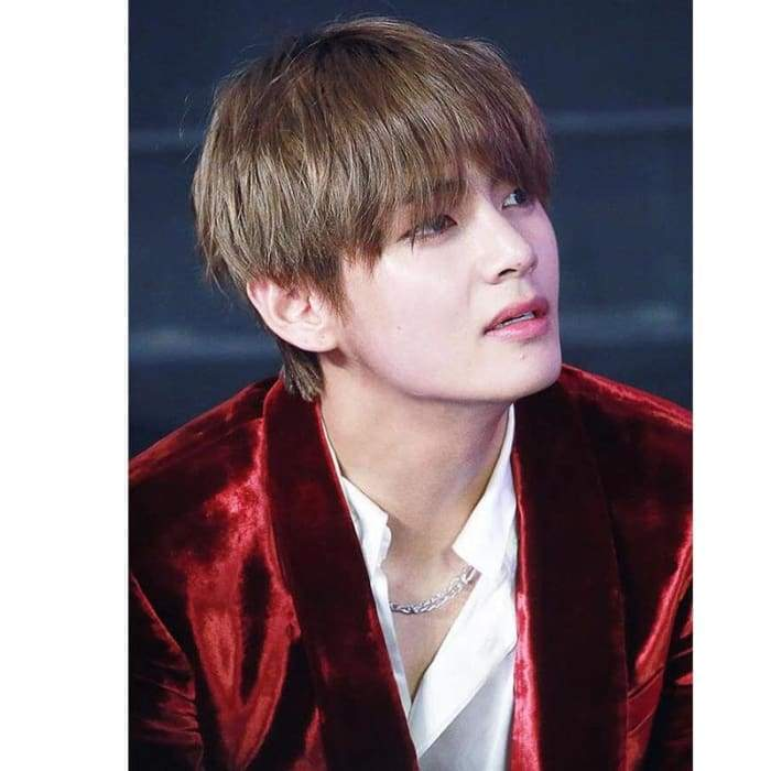 Bangtan Taehyung 2018 GMA Titanium Fashion Necklace