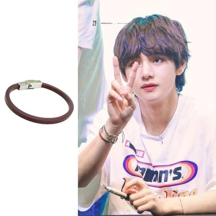 Bangtan V FAKE LOVE Fansign Fashion Bracelet