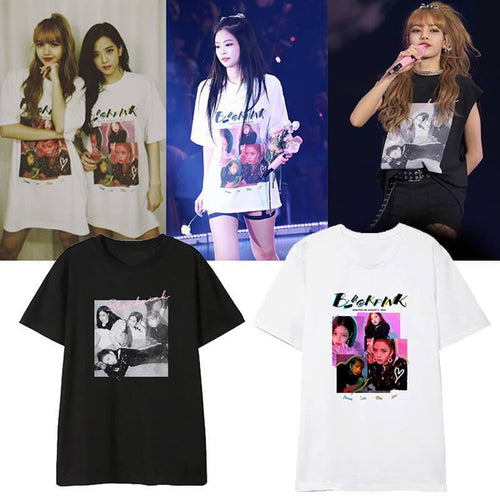 Blackpink Concert Casual T-shirt