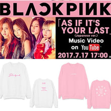 "Load image into Gallery viewer, Blackpink Concert ""SQUARE "" Sweatshirt"