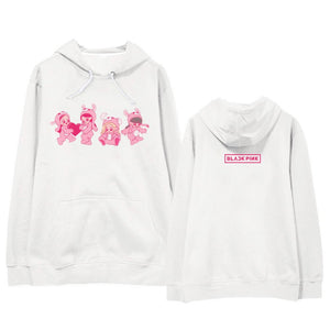 Blackpink Cute Cartoon Printed Hoodie