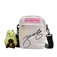 Load image into Gallery viewer, Blackpink Cute Pendant Small Square Bag