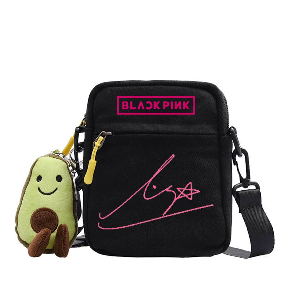 Blackpink Cute Pendant Small Square Bag