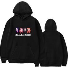 Load image into Gallery viewer, Blackpink Cute Printed Casual Hoodie