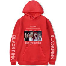 Load image into Gallery viewer, Blackpink How you like that Hoodie
