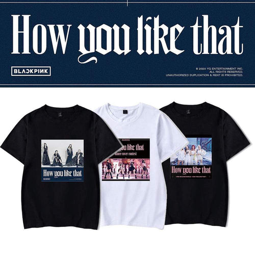 Blackpink How you like that Ver 1 T-shirt