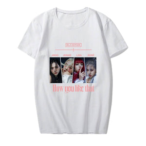 Blackpink How you like that Ver 4 T-shirt