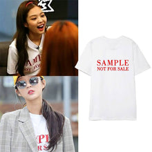Load image into Gallery viewer, Blackpink JENNIE Same Printed T-shirt