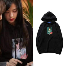 Load image into Gallery viewer, Blackpink JISOO Same Printed Hoodie