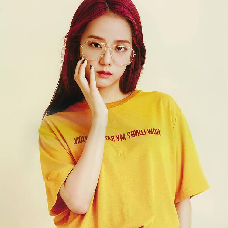 Blackpink JISOO Same Printed T-shirt