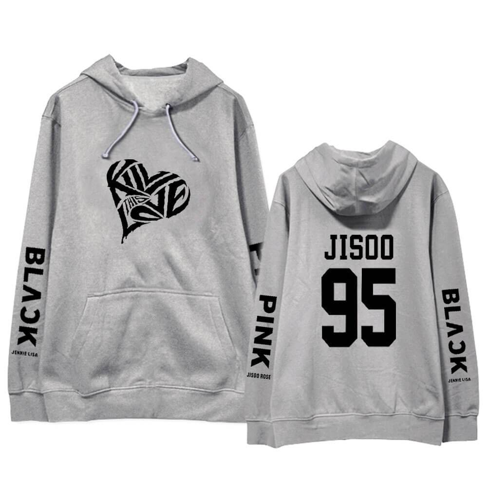 "Blackpink ""Kill This Love"" Letter Hoodie"
