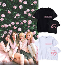 Load image into Gallery viewer, Blackpink Member Printed T-shirt