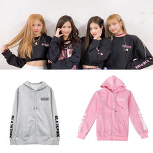 Load image into Gallery viewer, Blackpink Printed Zipper Hoodie