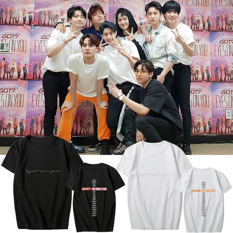 GOT7 2018 EYES ON YOU Concert T-shirt