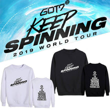 Load image into Gallery viewer, GOT7 2019 WORLD TOUR Concert Cotton Casual Sweatshirt