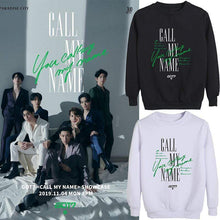 Load image into Gallery viewer, GOT7 CALL MY NAME Album Same Printed Casual Korean Sweatshirt