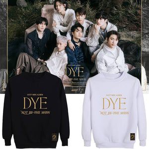 GOT7 DYE Album Printed Cotton Korean Casual Sweatshirt