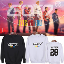 Load image into Gallery viewer, GOT7 EYES ON YOU Album Printed Cotton Casual Sweatshirt