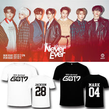Load image into Gallery viewer, GOT7 FLIGHT LOG ARRIVAL Album Printed T-shirt