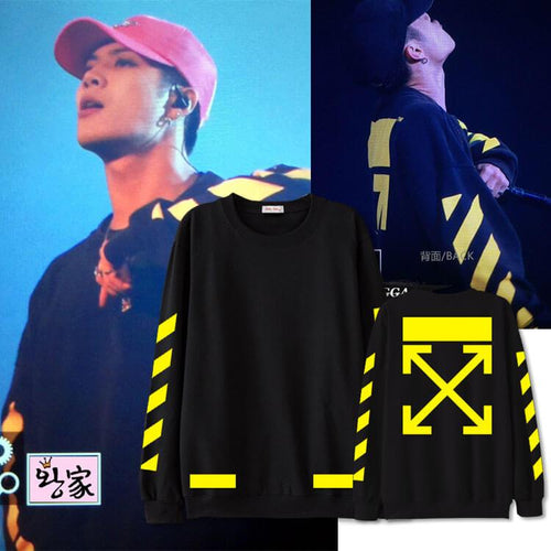 GOT7 Jackson Concert With The Same Cotton Casual Sweatshirt