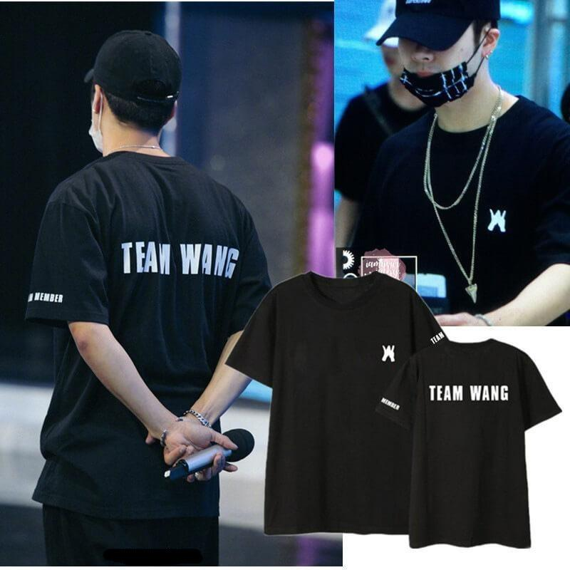 GOT7 JACKSON TEAM WANG Loose Korean T-shirt