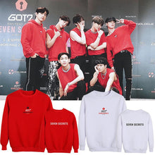 Load image into Gallery viewer, GOT7 SEVEN SECRETS Concert Printed Loose Sweatshirt