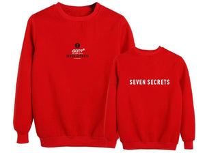 GOT7 SEVEN SECRETS Concert Printed Loose Sweatshirt