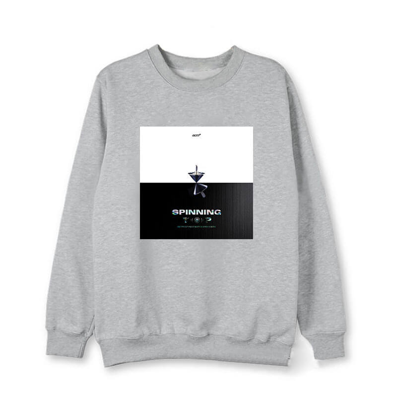 GOT7 SPINNING TOP Printed Korean Cotton Sweatshirt