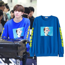 Load image into Gallery viewer, GOT7 YUGYEOM Same Korean Cotton Casual Sweatshirt