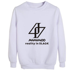 MAMAMOO reality in BLACK Sweatshirt