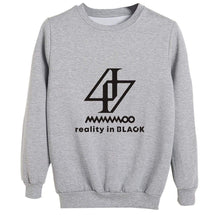 Load image into Gallery viewer, MAMAMOO reality in BLACK Sweatshirt