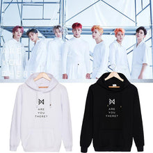 Load image into Gallery viewer, MONSTA X ARE YOU THERE Album Printed Hoodie