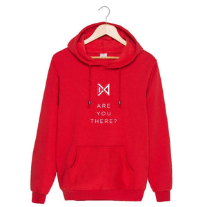 MONSTA X ARE YOU THERE Album Printed Hoodie