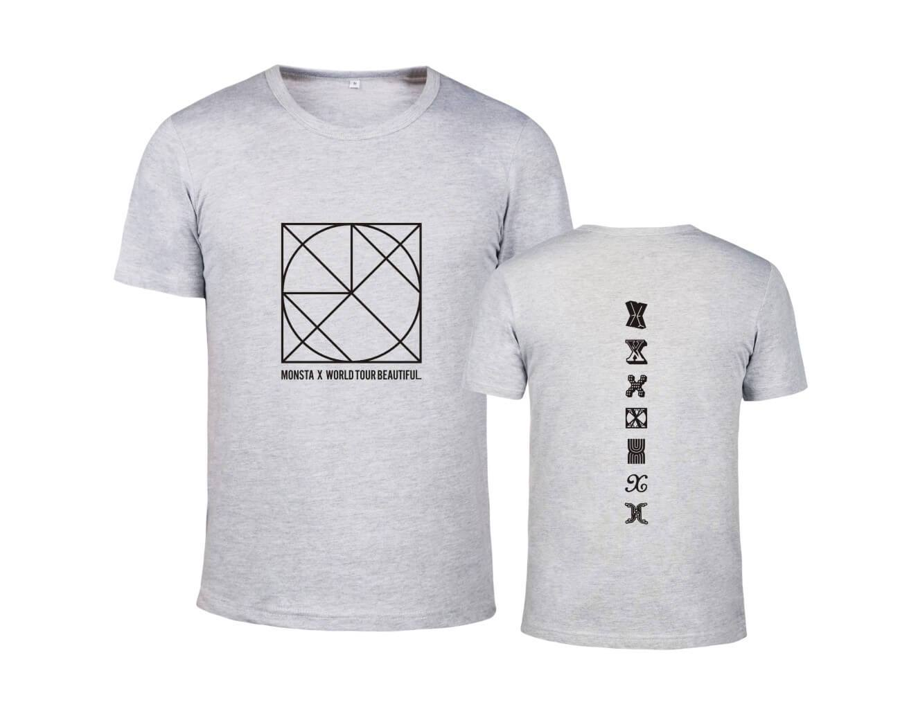 MONSTA X BE BEAUTIFUL Concert Printed T-shirt