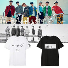 Load image into Gallery viewer, MONSTA X Cotton Casual T-shirt