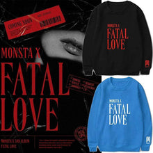Load image into Gallery viewer, MONSTA X FATAL LOVE Sweatshirt