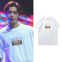 Load image into Gallery viewer, MONSTA X Hyungwon Same Printed T-shirt