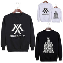 Load image into Gallery viewer, MONSTA X Member Name Printed Casual Sweatshirt