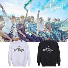 Load image into Gallery viewer, MONSTA X NEWTON Printed Cotton Unisex Loose Hoodie