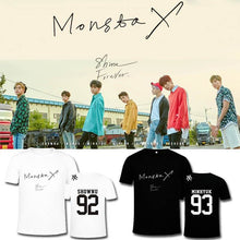 Load image into Gallery viewer, MONSTA X SHINE FOREVER Album Printed T-shirt