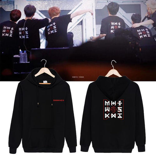 MONSTA X THE CODE Concert Same Casual Hoodie