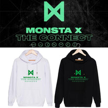 Load image into Gallery viewer, MONSTA X THE CONNECT Album Printed Cotton Casual Hoodie