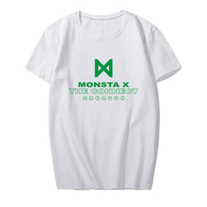 MONSTA X THE CONNECT Album Printed Loose T-shirt