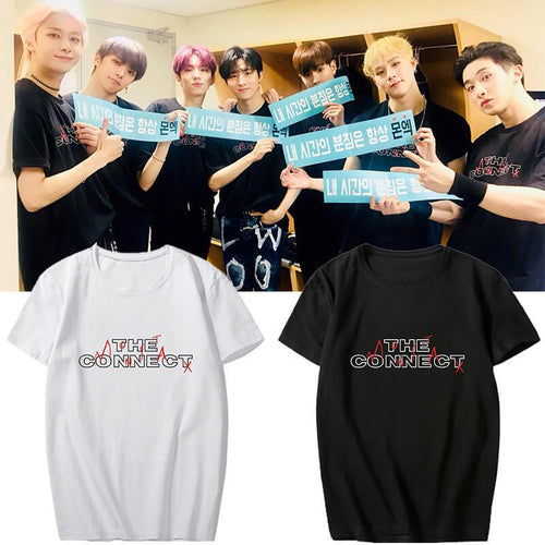 MONSTA X THE CONNECT Concert Printed T-shirt