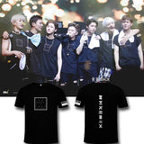 MONSTA X THE FIRST LIVE Concert Printed Loose T-shirt