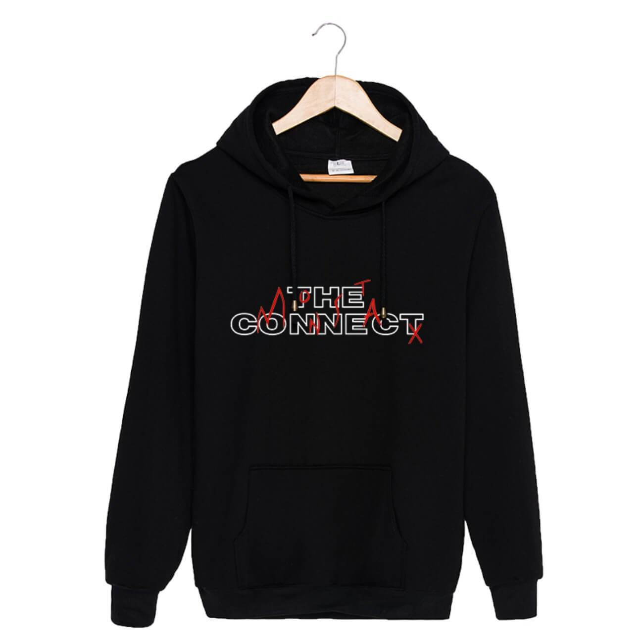 MONSTA X World Tour Concert THE CONNECT Printed Cotton Hoodie